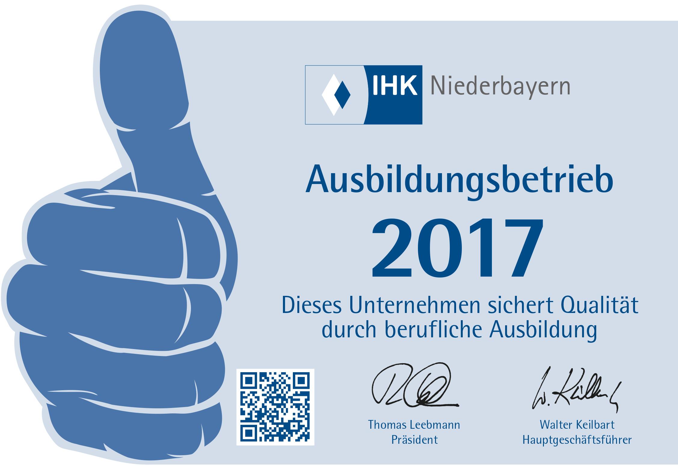 Aufkleber IHK Passau Normal_2017